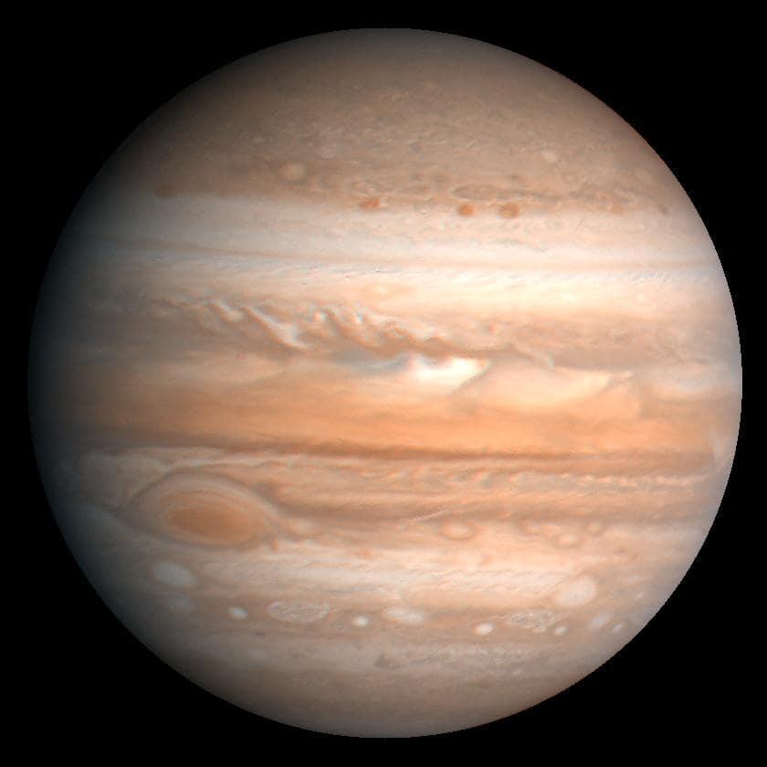 Planeten Jupiter